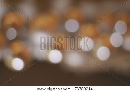 Defocused Colorful Lights Background