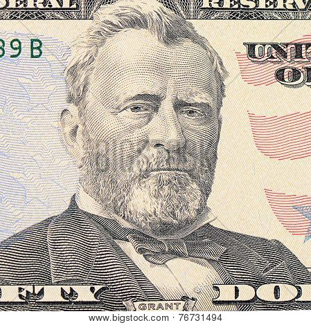 The Face Grant The Dollar Bill