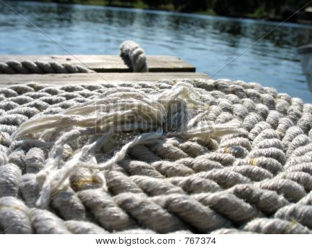 Bridge with rope 2