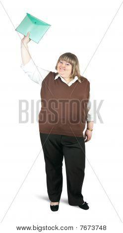 Happyl Businesswoman