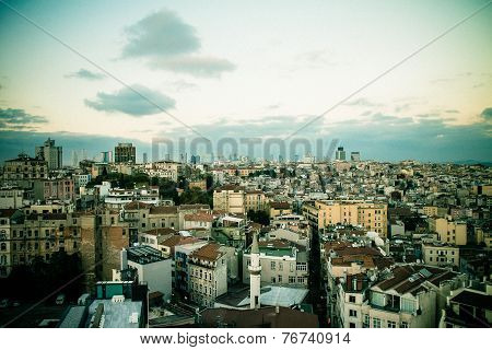 Istanbul, View From Galata Tower