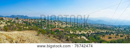 The Slopes Of Troodos
