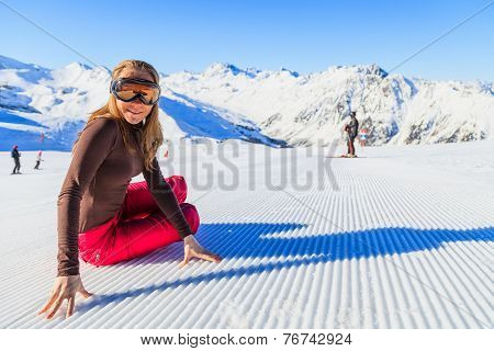 Winter Fun In The Alps