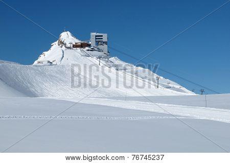 Scex Rouge, Glacier De Diableretes