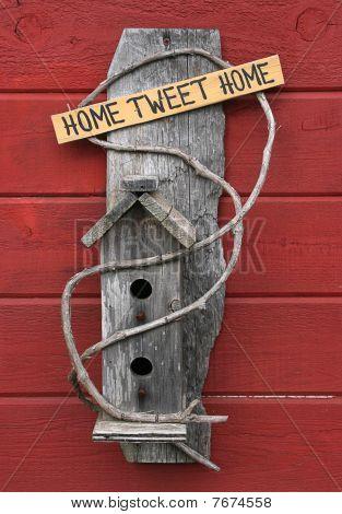 Bird Tweet de casa hogar