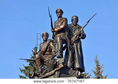 Monument To Heroes Of First World War. Kaliningrad, Russia