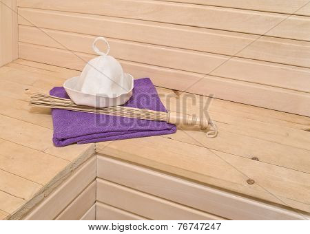 Sauna Accessories In The Interior