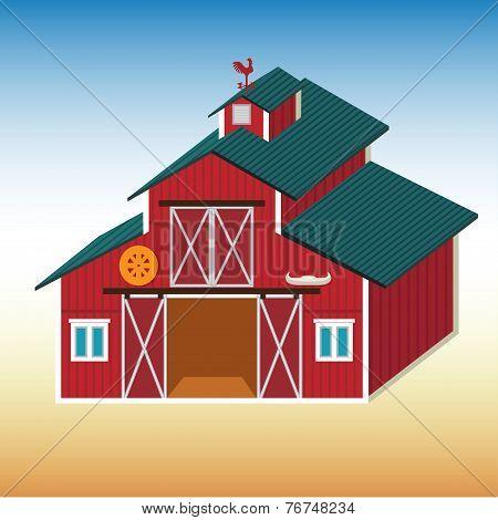 Red Barn.