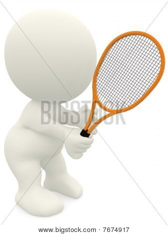 3D Tennis Player