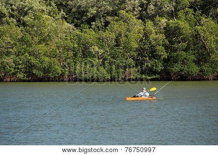 Everglades Kayaker