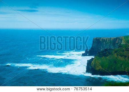 Cliffs Of Moher In Co. Clare Ireland Europe.