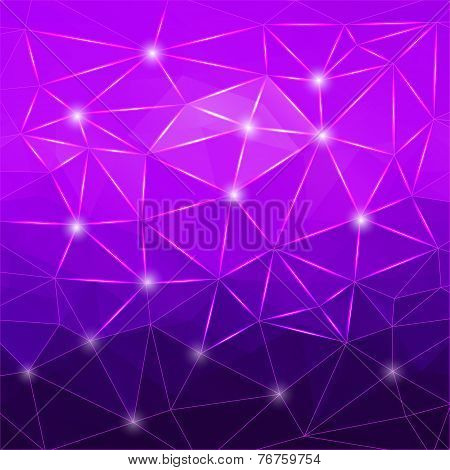 Modern Abstract Geometric Purple Background