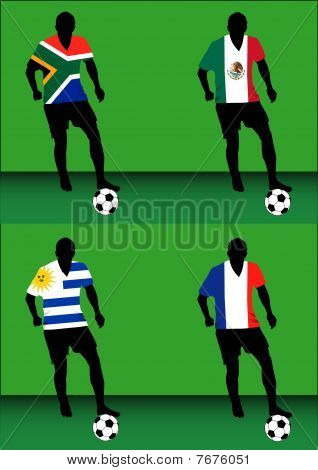 Soccer players - Group A
