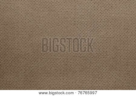 Texture Of Leather Brown Color With A Reverse Side