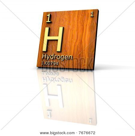 Hydrogen Form Periodic Table Of Elements