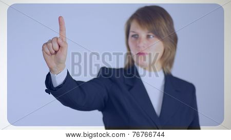 business background - woman businessman
