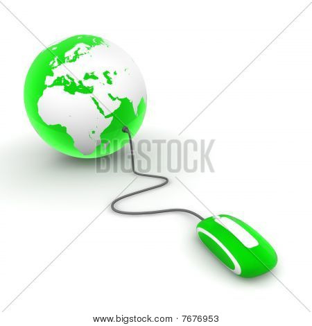 Surf The World - Green Translucent