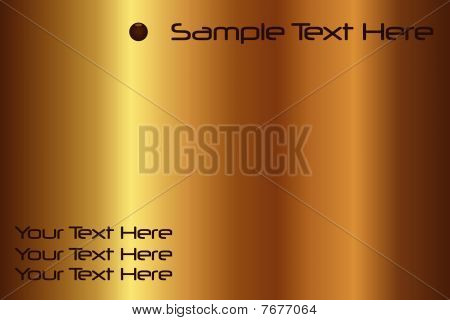 Gold Sample Text