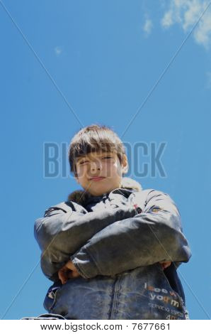 The Boy Against The Sky