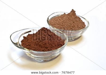 Cocoa Cake And Cocoa Powder