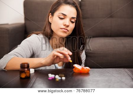 Organizing Pills At Home
