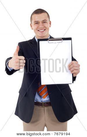 Presenting A Clipboard