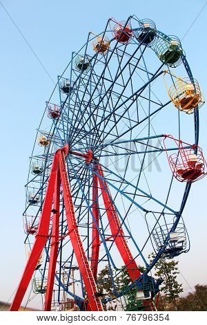 Big Ferris Wheel For Family Leisure