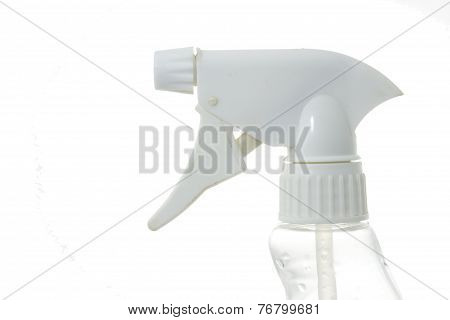 Sprey, Trigger Bottle On White Background For Cut To Use