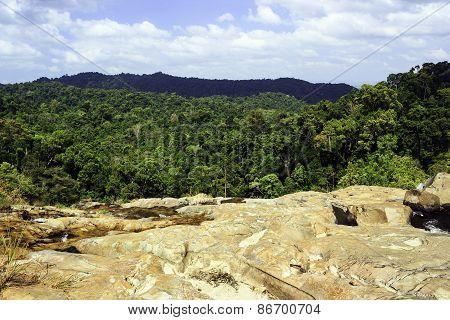 Tone Nga Chang Waterfall In Had Yai