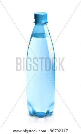 Water bottle, vector icon