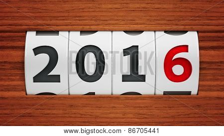 New Year 2016 Counter