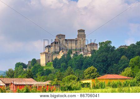 Castle of Torrechiara. Emilia Romagna. Italy.