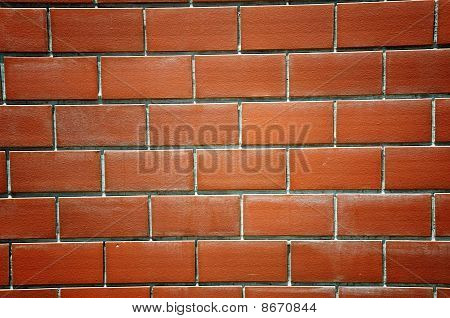 Brown color Pattern block wall