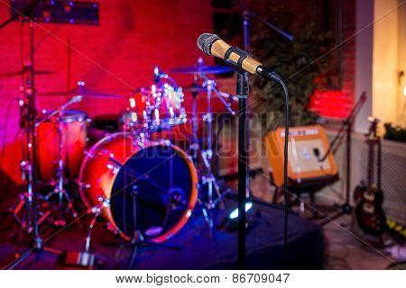 Rock Concert Stage