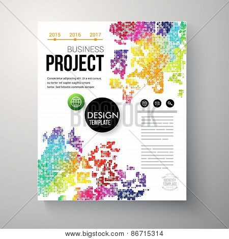 Design template for a Business Project