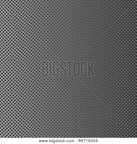 Background Mesh With Sinuous Lines