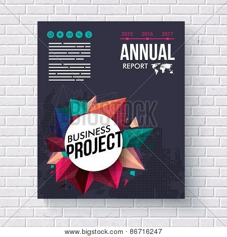 Annual Report design template for Mining