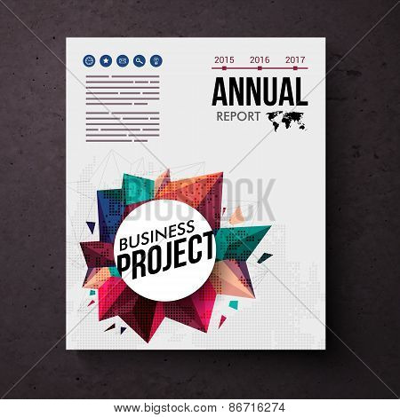 Design template for an Annual Business Report