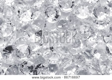 close up of the diamond background
