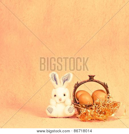 Retro Easter Rabbit