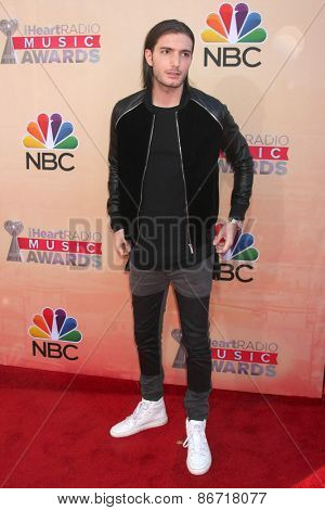 LOS ANGELES - MAR 29:  Alesso at the 2015 iHeartRadio Music Awards at the Shrine Auditorium on March 29, 2015 in Los Angeles, CA