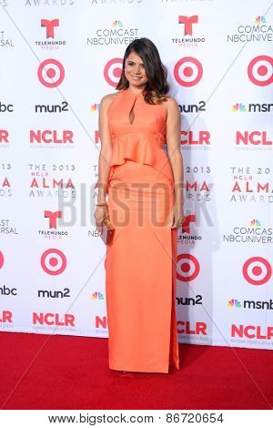 LOS ANGELES - SEP 27:  Melonie Diaz at the 2013 ALMA Awards - Arrivals at Pasadena Civic Auditorium on September 27, 2013 in Pasadena, CA