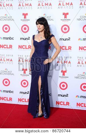 LOS ANGELES - SEP 27:  Vanessa Villela at the 2013 ALMA Awards - Arrivals at Pasadena Civic Auditorium on September 27, 2013 in Pasadena, CA