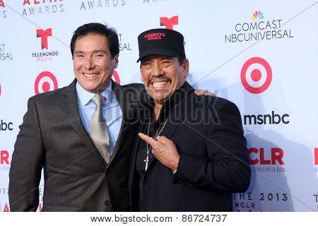 LOS ANGELES - SEP 27:  Benito Martinez, Danny Trejo at the 2013 ALMA Awards - Arrivals at Pasadena Civic Auditorium on September 27, 2013 in Pasadena, CA