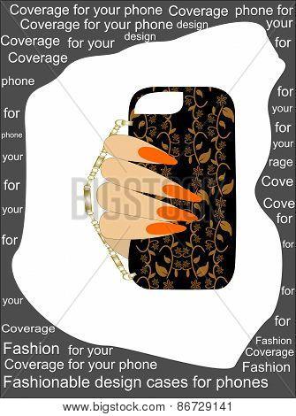Trendy original design cases for phones