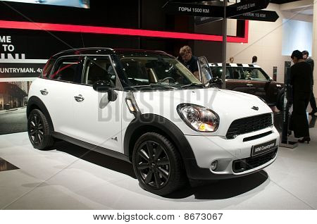 Mini Countryman - Russian premiere