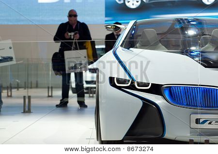 BMW Vision EfficientDynamics Concept car detail
