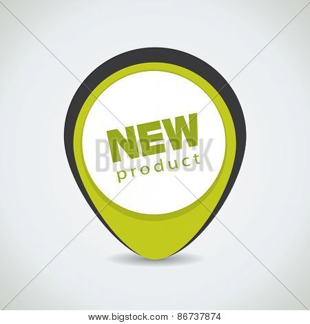 New product tag, can be used for special offer sticker as well