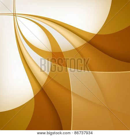 Abstract Brown Background. Vector Illustration