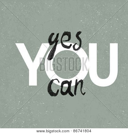 Yes you can poster. With textured background